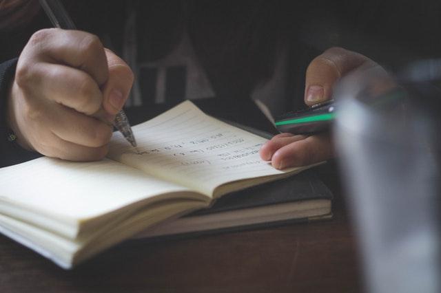 Walkthrough for writing